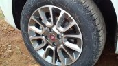 Fiat Punto Evo spied alloy wheel