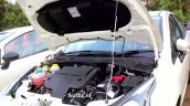 Fiat Punto Evo white spied engine bay