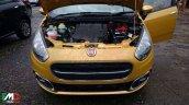 Fiat Punto facelift fully revealed spyshot front