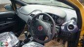 Fiat Punto facelift fully revealed spyshot interior