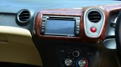 Honda Mobilio Diesel Review center console