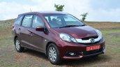 Honda Mobilio Diesel Review front quarters