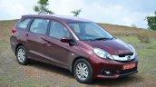Honda Mobilio Diesel Review front three quarter