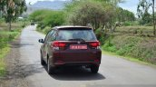 Honda Mobilio Diesel Review moving rear