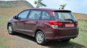 Honda Mobilio Diesel Review rear quarters