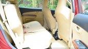 Honda Mobilio Diesel Review rear seat