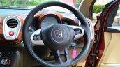 Honda Mobilio Diesel Review steering