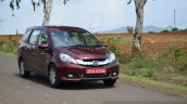 Honda Mobilio Diesel Review tracking
