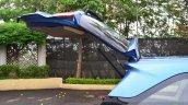 Honda Mobilio Petrol Review bootlid open