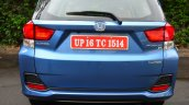 Honda Mobilio Petrol Review bootlid