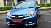 Honda Mobilio Petrol Review front angle