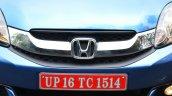 Honda Mobilio Petrol Review grille