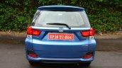 Honda Mobilio Petrol Review rear fascia