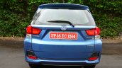 Honda Mobilio Petrol Review rear image