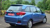 Honda Mobilio Petrol Review rear quarter