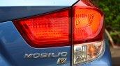 Honda Mobilio Petrol Review taillights