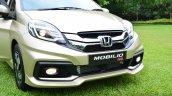 Honda Mobilio RS India live image front fascia