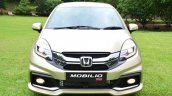 Honda Mobilio RS India live image front view