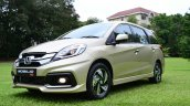 Honda Mobilio RS India live image profile of the front