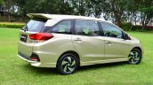 Honda Mobilio RS India live image quarter