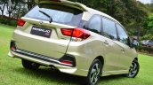 Honda Mobilio RS India live image rear angle shot