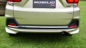 Honda Mobilio RS India live image rear bumper