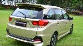 Honda Mobilio RS India live image rear quarter
