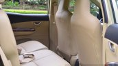 Honda Mobilio RS India live image rear seat