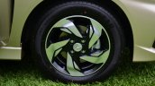 Honda Mobilio RS India live image wheel