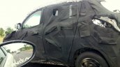 Mahindra S101 caught testing in India side angle