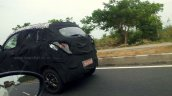 Mahindra S101 caught testing in India side view shot