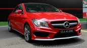 Mercedes CLA 45 AMG India launch Buddh International Circuit