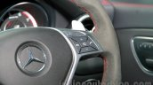 Mercedes CLA 45 AMG audio buttons on the steering wheel India launch