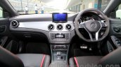 Mercedes CLA 45 AMG dashboard India launch