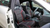 Mercedes CLA 45 AMG front seats India launch