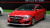 Mercedes CLA 45 AMG front three quarters India launch