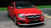 Mercedes CLA 45 AMG front three quarters left India launch