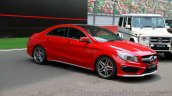Mercedes CLA 45 AMG front three quarters view India launch