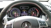 Mercedes CLA 45 AMG instrument binnacle India launch