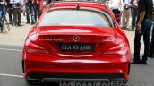 Mercedes CLA 45 AMG rear India launch
