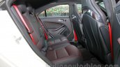 Mercedes CLA 45 AMG rear legroom India launch