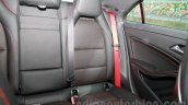Mercedes CLA 45 AMG rear seat India launch