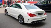 Mercedes CLA 45 AMG rear three quarters left India launch