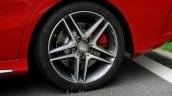 Mercedes CLA 45 AMG rear wheel India launch