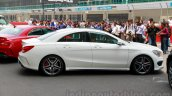 Mercedes CLA 45 AMG side India launch