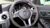 Mercedes CLA 45 AMG steering wheel India launch
