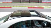 Mercedes CLA 45 AMG sunroof open India launch