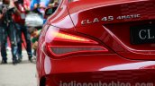 Mercedes CLA 45 AMG taillamp India launch