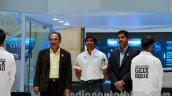 Narain Karthikeyan at Tata Motors Revotron Lab