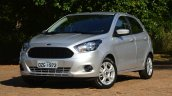 New Ford Ka first images front quarters